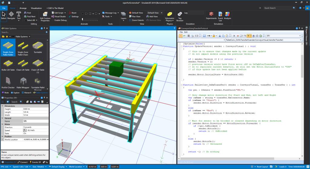製造業 Emulate3D シミュレーション