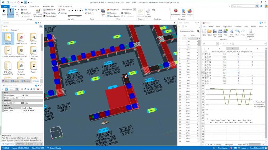 Emulate3D 製造業 シミュレーション