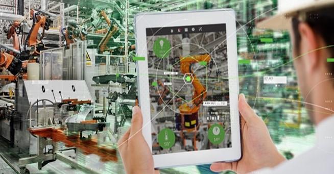 AR 拡張現実 PTC ロボット 製造