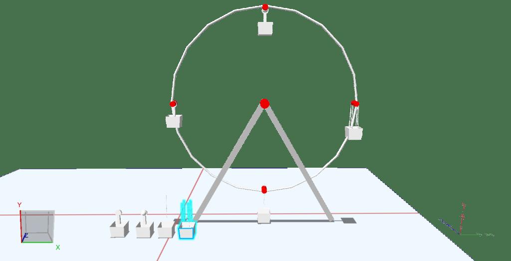 観覧車 3Dモデル