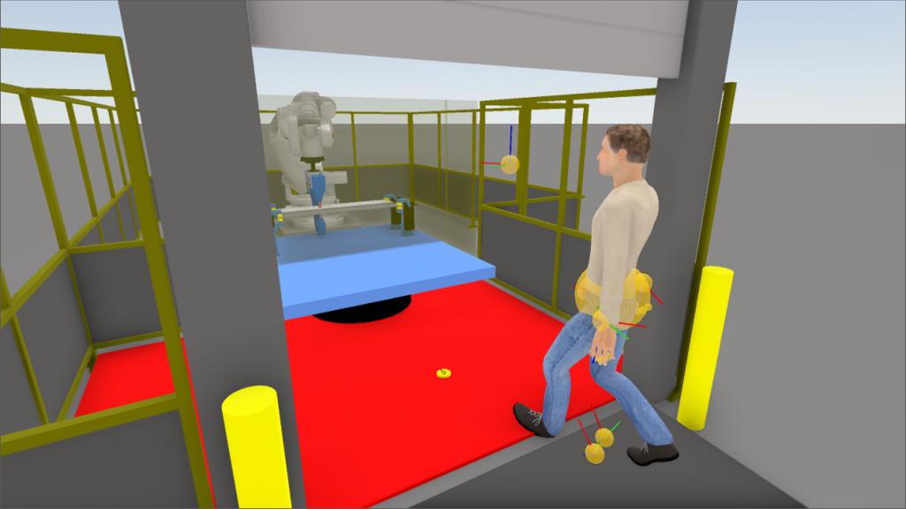 ロボット 安全装置 インターロック VR