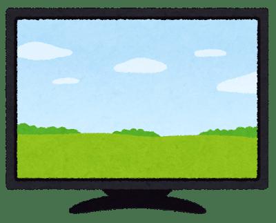 テレビ インチ イメージ