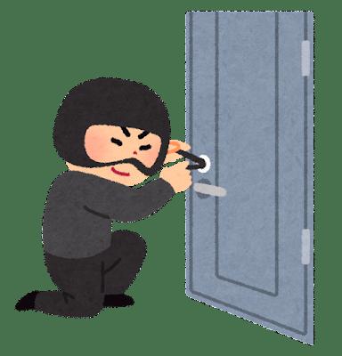ピッキング 泥棒 鍵 開錠