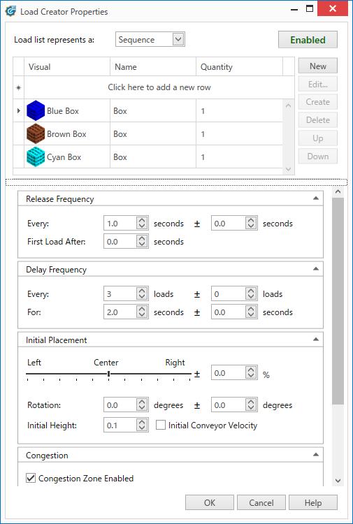 Emulate3D TargetSelector 搬送モデル
